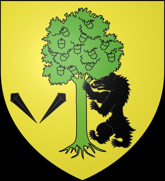 Blason du village d'Arbonne Pays Basque.