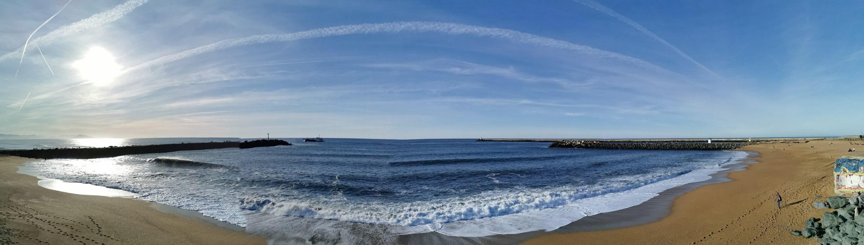 Front de mer Anglet. Loic BANCE Paysagiste Conseil.