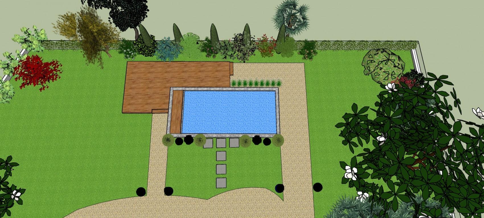 Paysagiste-Bayonne-piscine-création cheminement-et-zone-de-vie-23