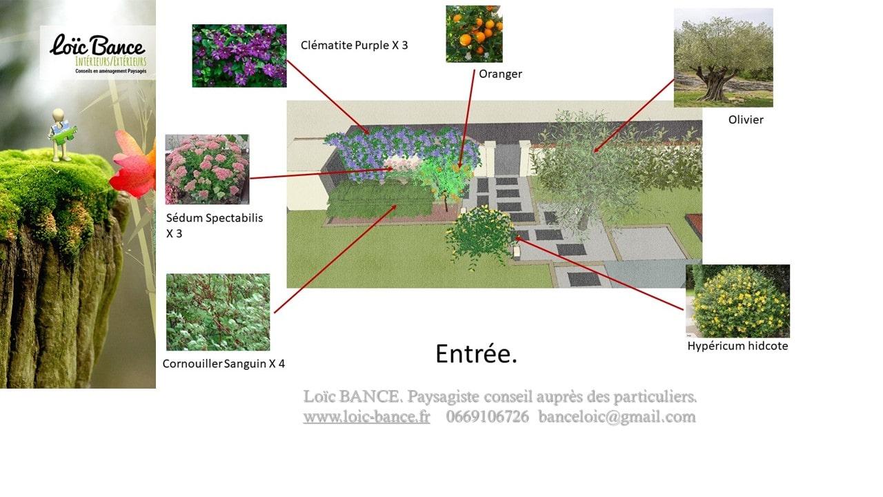 Paysagiste-Biarritz-plan-et-legende-de-plantation-1