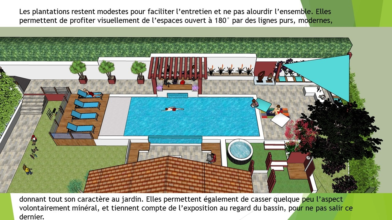 Piscine Pays basque et piscine Landes. Un paysagiste pour implanter ma piscine.