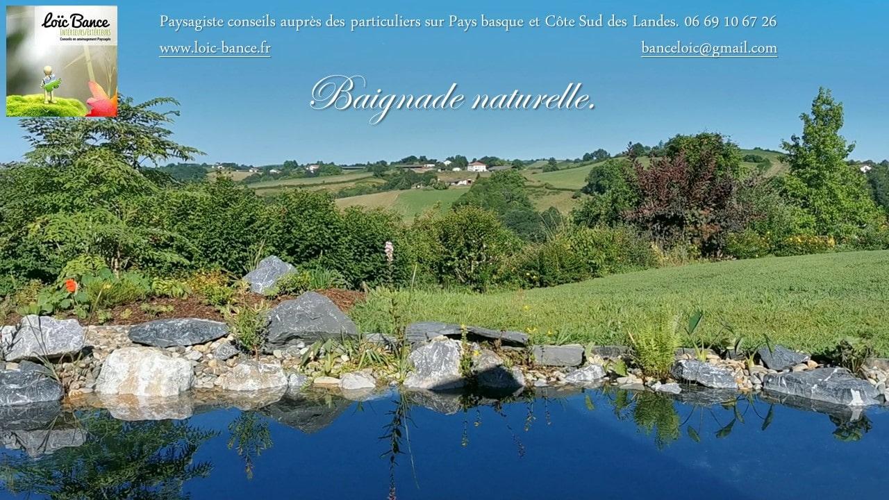 Piscines naturelles au pays basque.